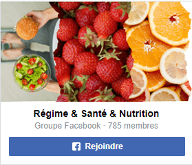 groupe facebook regime