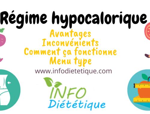 Un régime hypocalorique