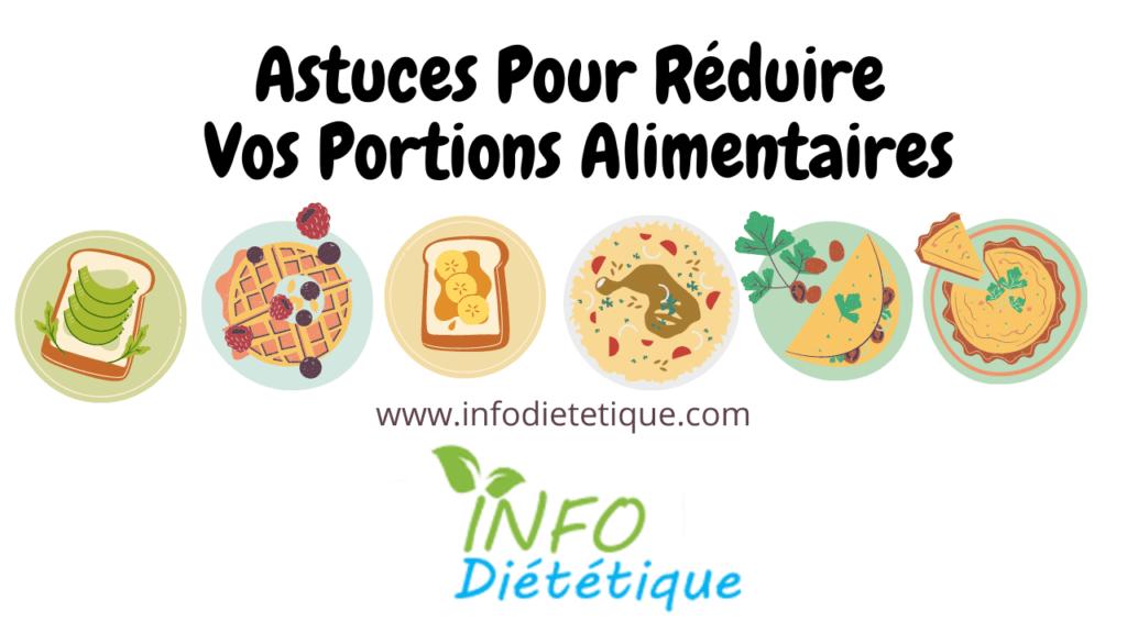 réduire Portions alimentaires